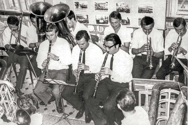 Партия первого кларнета в духовом оркестре донецкого музпединститута.