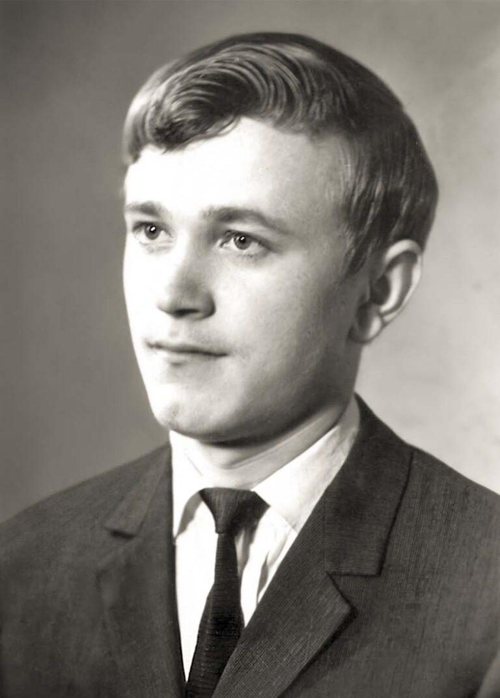 Сразу после защиты диплома. 1967 год