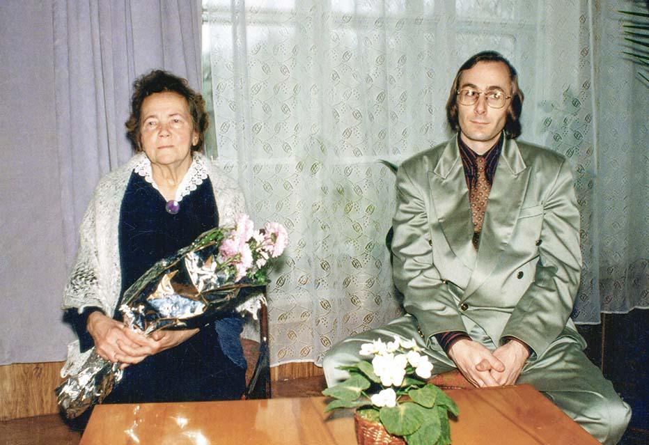 С мамой - Н.Т.Мартыновой